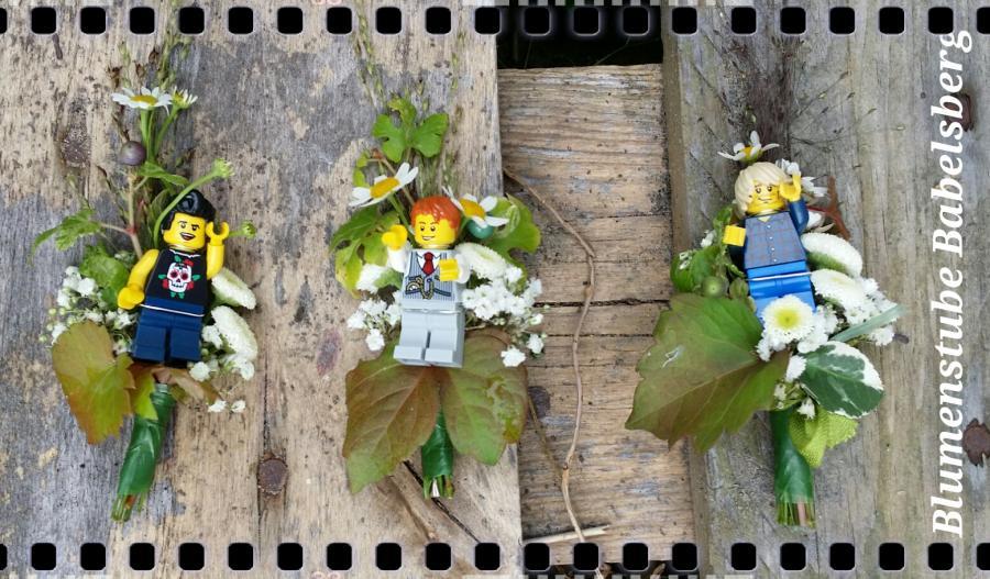 Für Schulanfang und Hochzeit - Anstecker für Kinder!