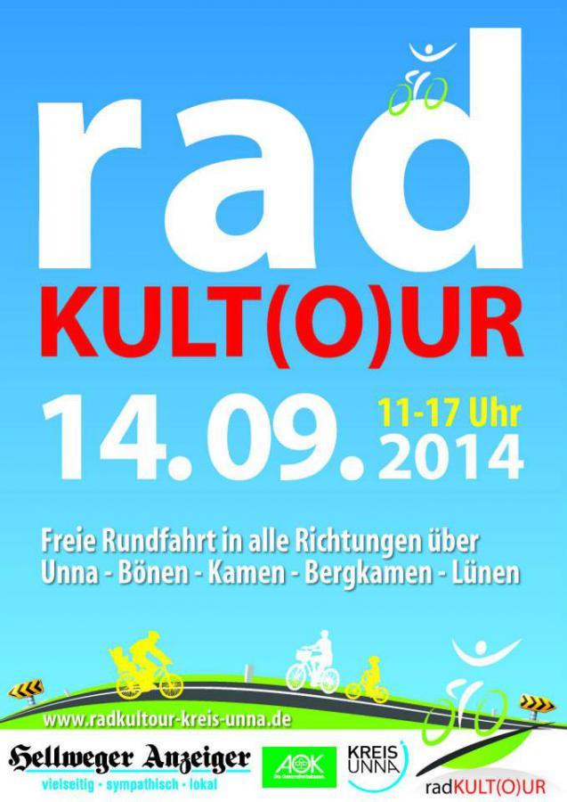 Plakat RadKulTour 2014