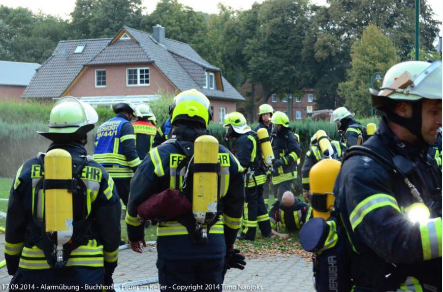 2014 Einsatzübung in Buchhorst 13