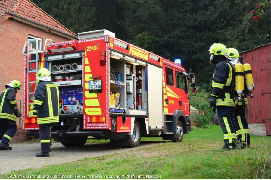 2014 Einsatzübung in Buchhorst 3
