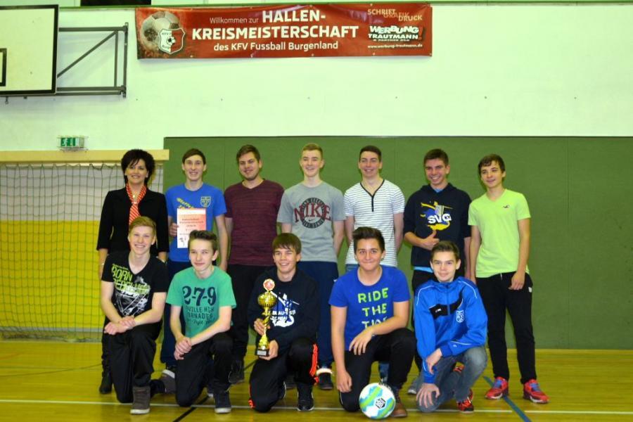 Hallkreismeister B-Junioren 2014: SG Großgrimma/Zorbau