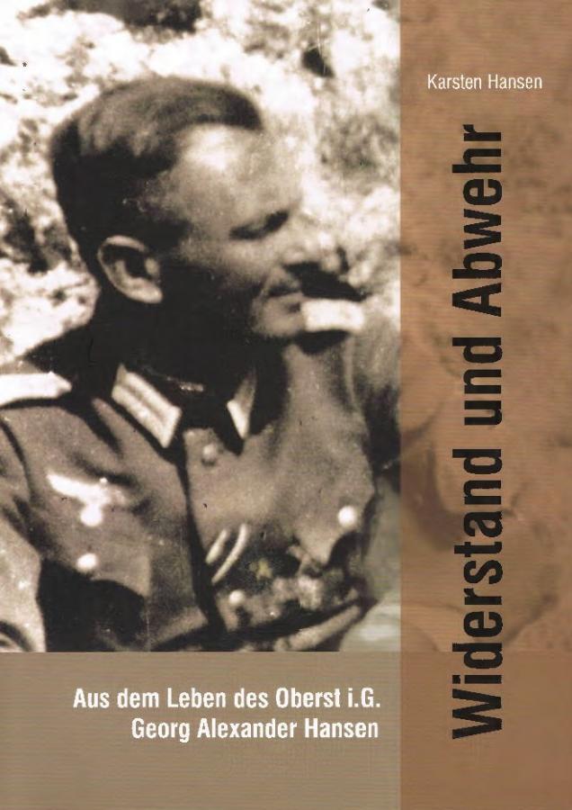 © Foto: Titelseite des Buches Widerstand und Abwehr 1. Auflage 2014