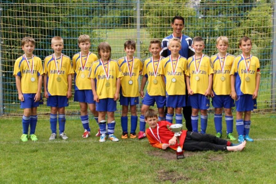 E-Junioren-Kreispokalsieger 2014