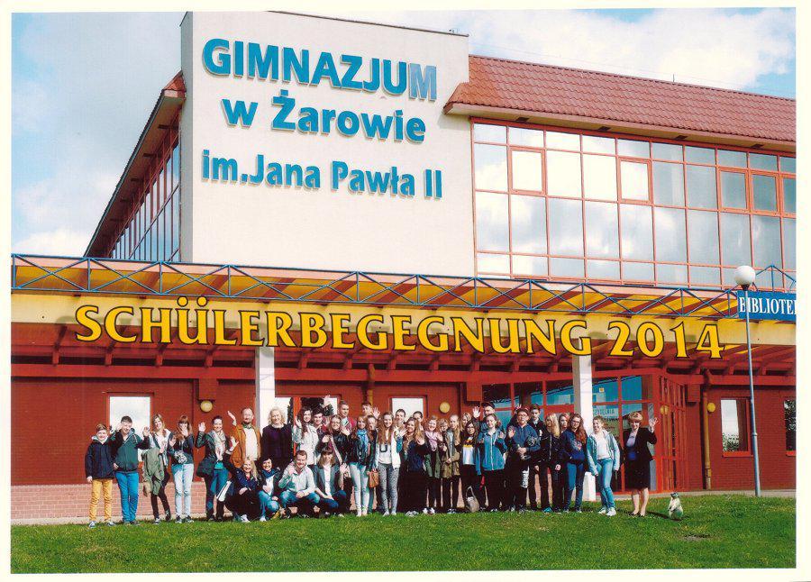 Schüleraustausch mit dem Gymnasium Zarow