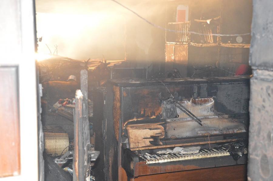 Brand Schwarzenbergstraße