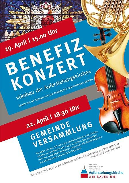Benefizkonzert im April