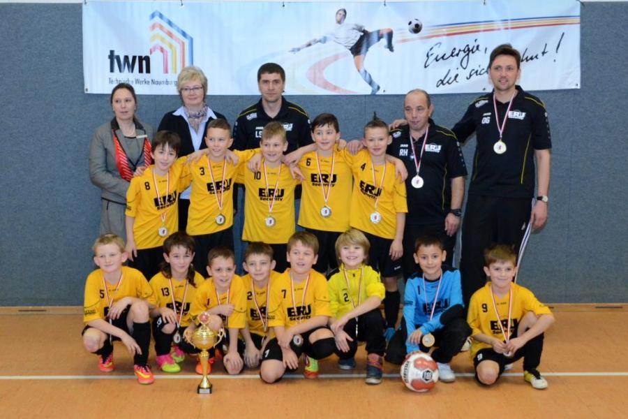 Kreismeister F-Junioren JSG Naumburg