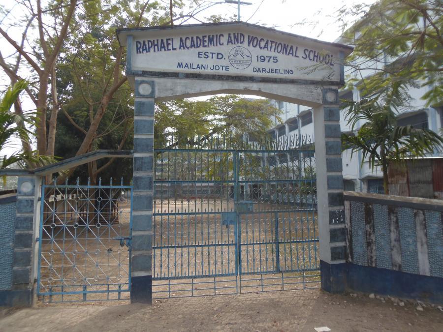 Eingang zur Schule in Mailanijoth