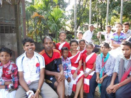 Schüler mit Niraj