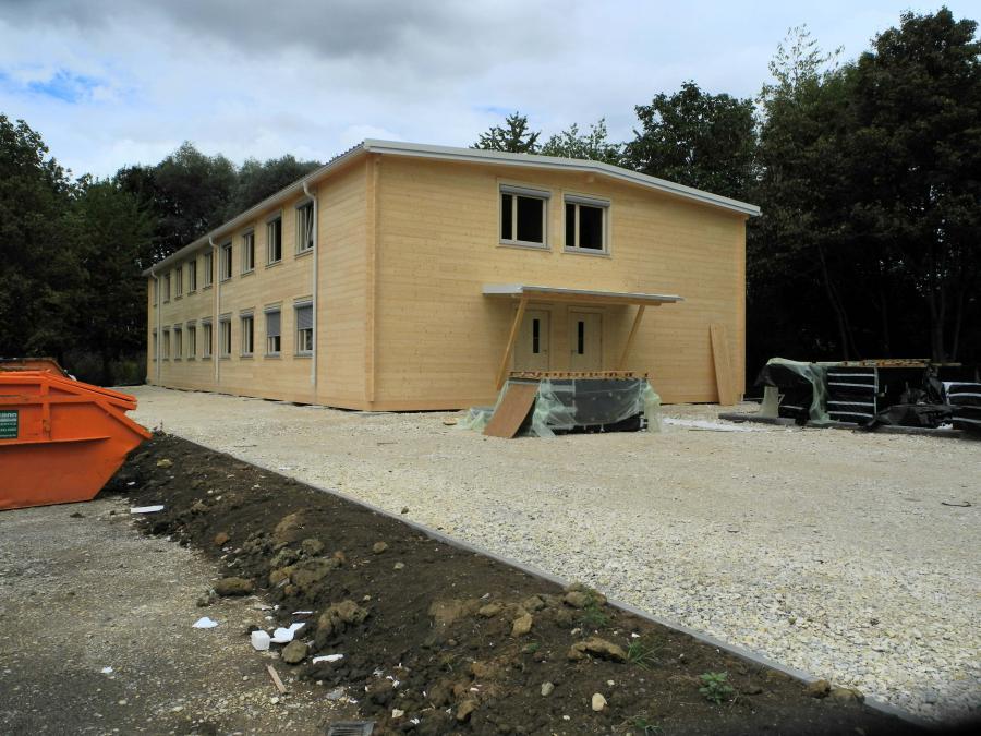 Innenausbau Wendlingen-Bodelshofen (BOD) läuft (Hoffmann Foto-Express)