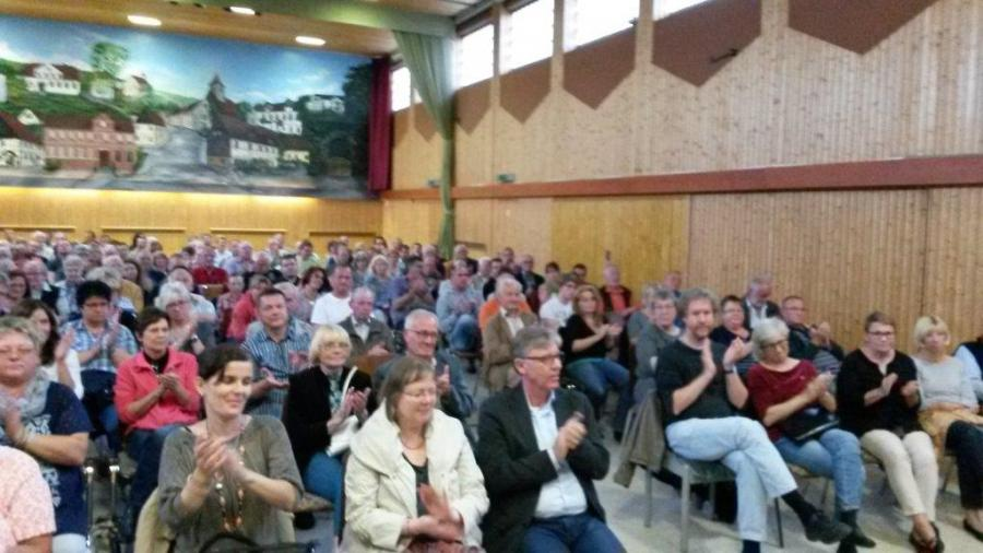 Foto: Bürgerversammlung zur Information über ankommende Flüchtlinge