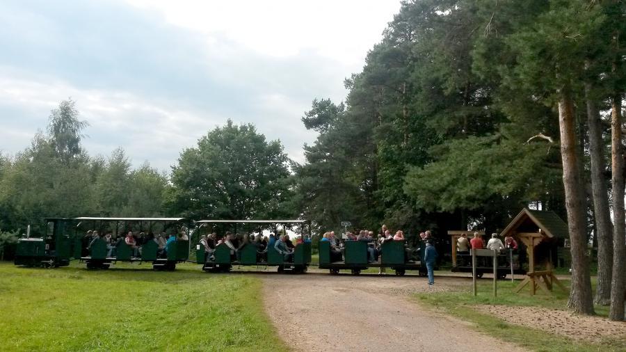 Moorbahn mit 82 Fahrgästen