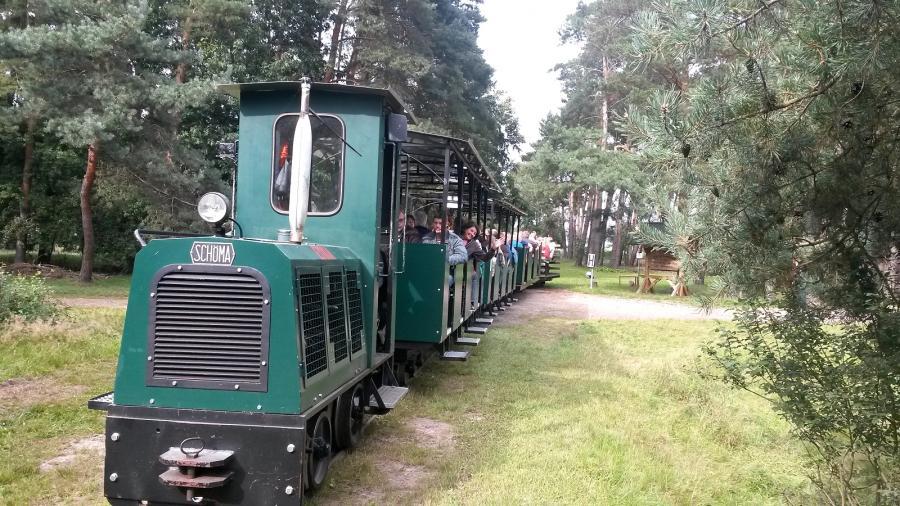 Moorbahn mit 82 Personen - 2