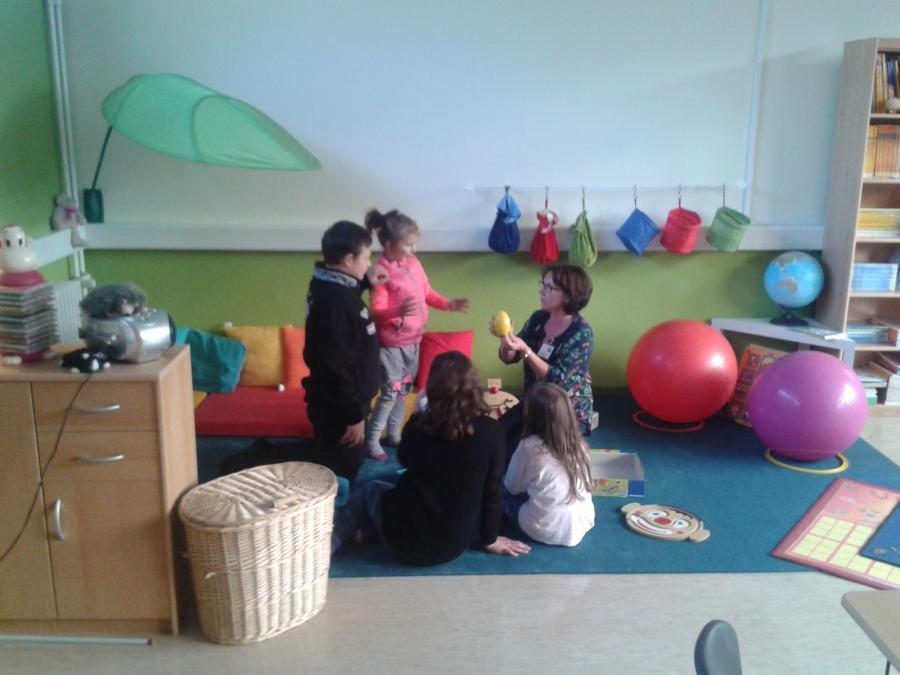Der Sonderpädagogische Förderraum am Tag der offenen Tür