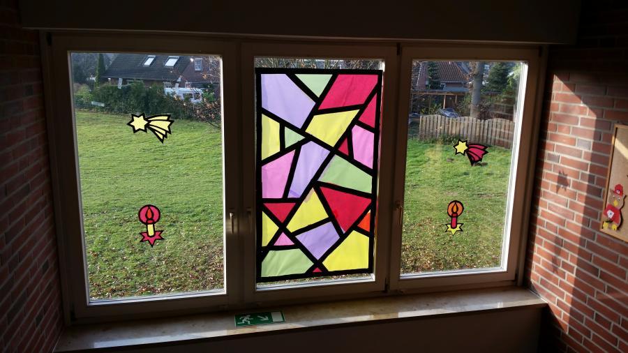 Fenster Flur oben