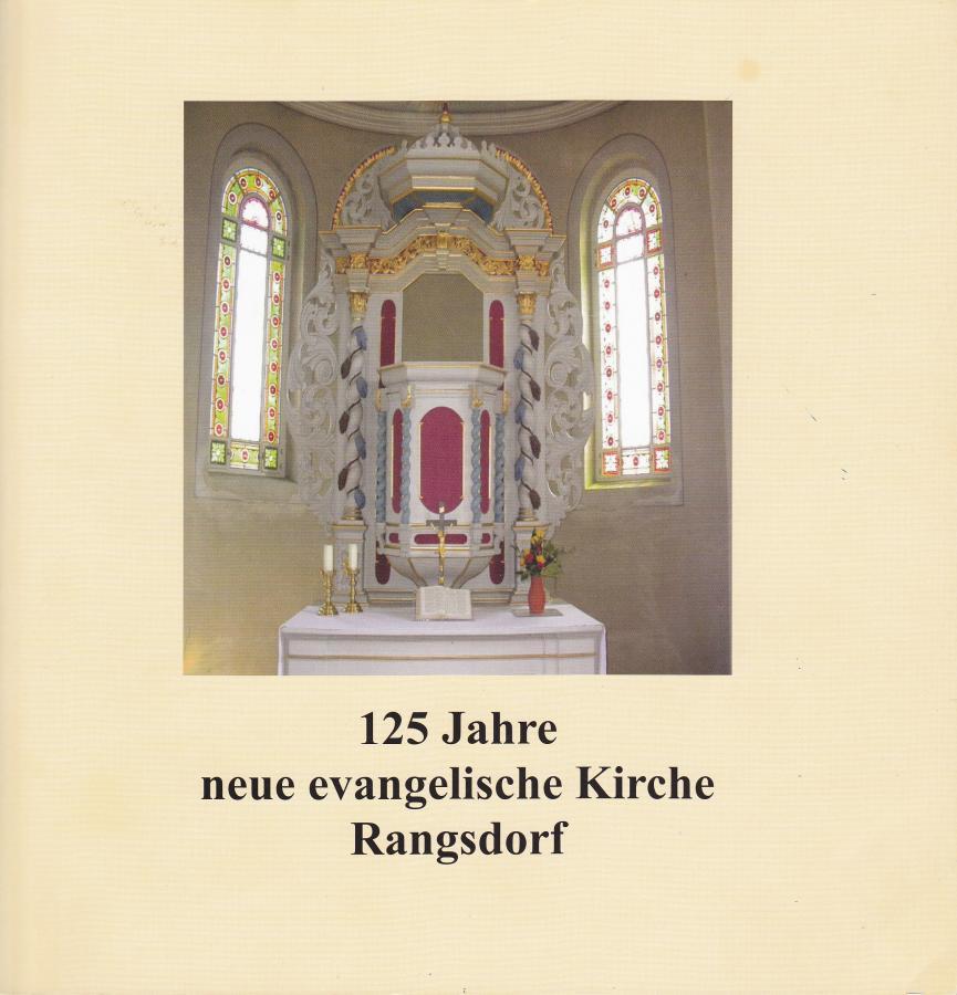 © Foto: Titelseite der Broschüre 125 Jahre neue evangelische Kirche Rangsdorf