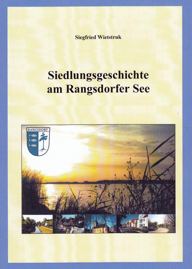 © Foto: Titelseite der Broschüre Siedlungsgeschichte am Rangsdorfer See