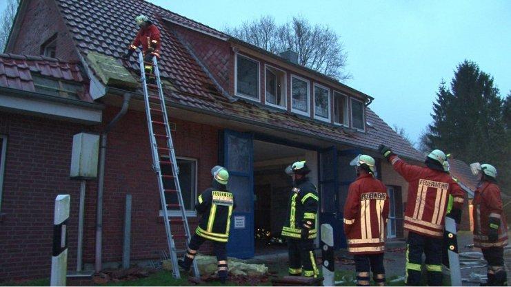 Einsatz Feuerwehrhaus Ohrtermersch