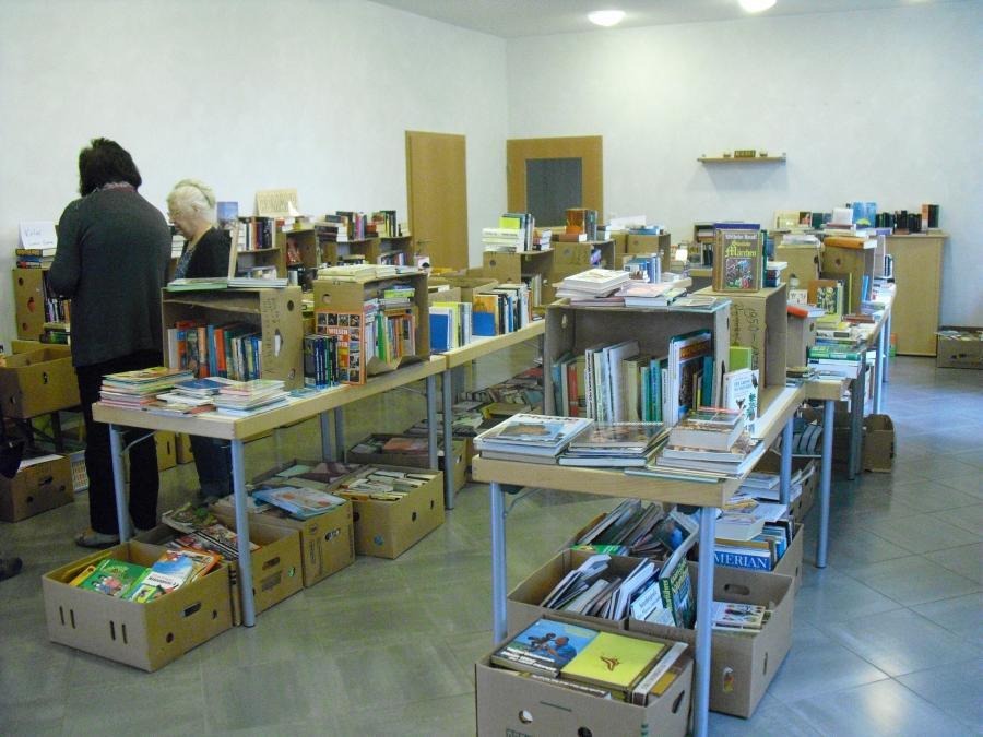 antiquarischer Büchermarkt