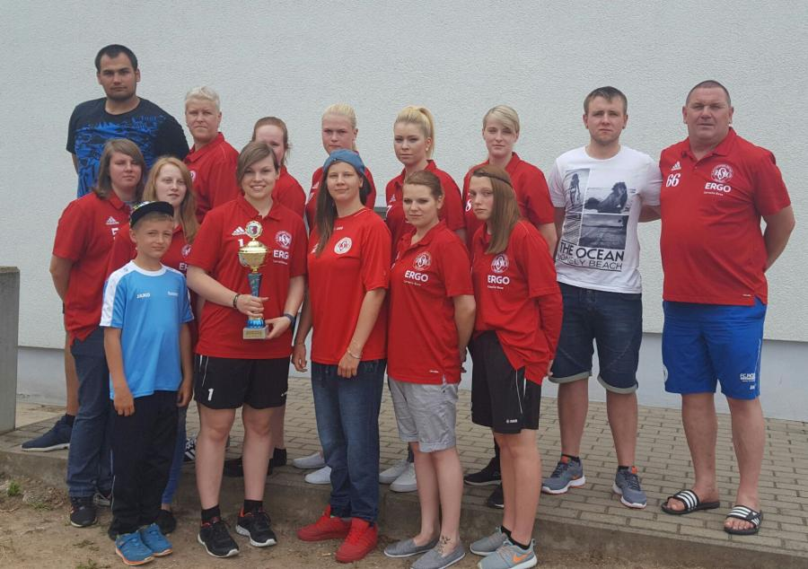 FC RSK Freyburg, Kreismeister der Kreisliga Damen 2015/16