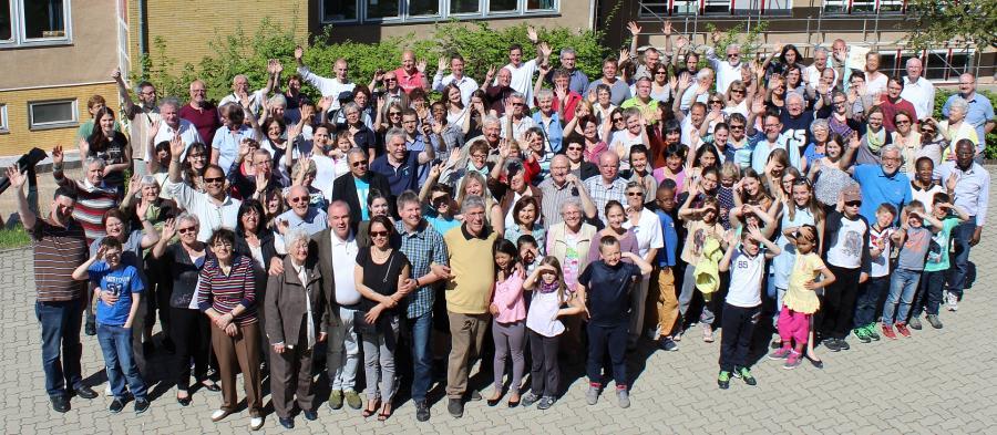 2016-05 Gruppenfoto 25 Jahre Partnerschaft
