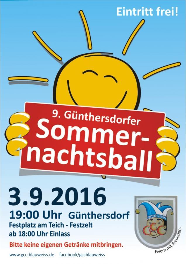 9. Günthersdorfer Sommernachtsball