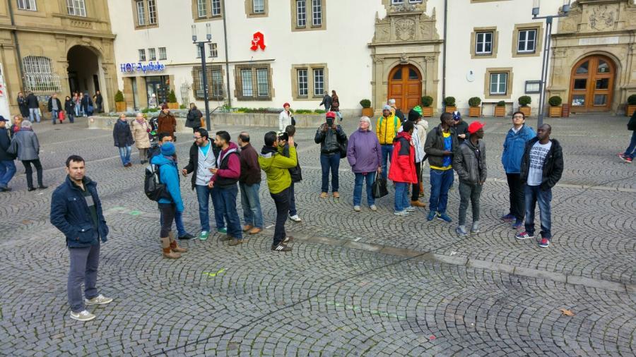 20160105_Sightseeing Stuttgart Schillerplatz