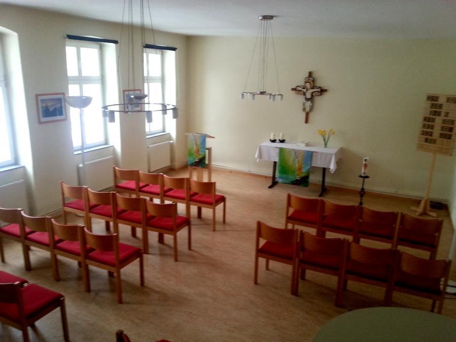 Unsere Winterkirche - Pfarrhaussaal