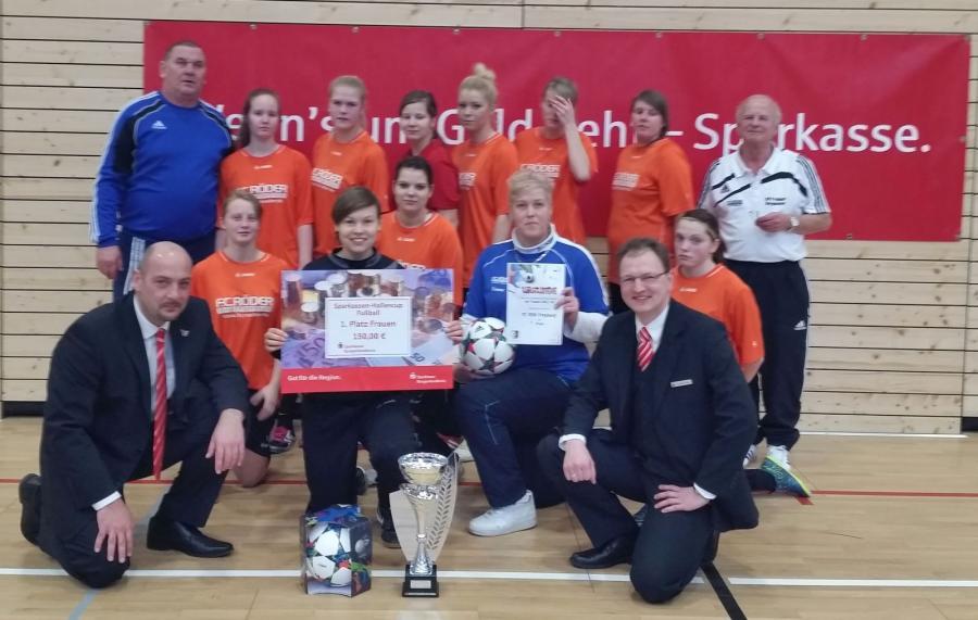 Gewinner des Sparkassen-Cups2016: FC RSK Freyburg