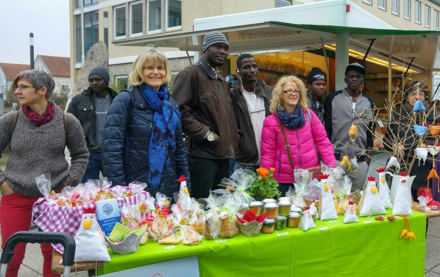 20160312_Osterstand Wochenmarkt Wendlingen