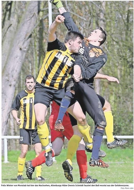 20160406_OVZ_Fussball Lok II gegen Monstab Bild