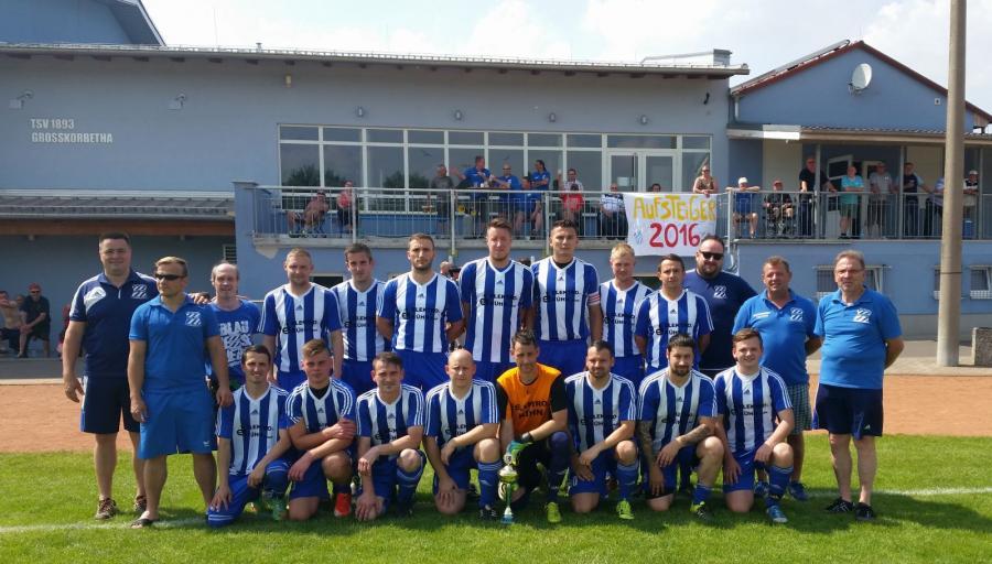 TSV Großkorbeth, Staffelsieger Staffel 1 und Aufsteiger in die Kreisoberliga