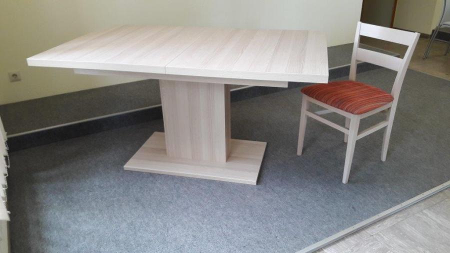 Säulentisch mit Stuhl Calbe