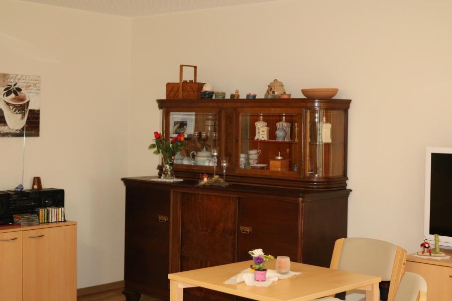Wohnbereich in der Tagespflege
