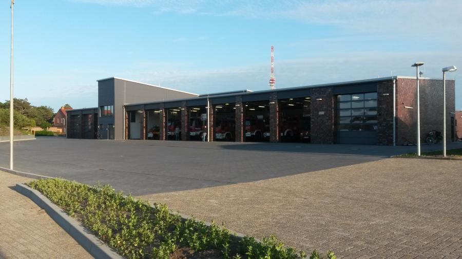 Neues Feuerwehrhaus