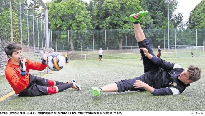 20160810_OVZ Fussball DFA Fußballschule 2016 bei Lok Bild I