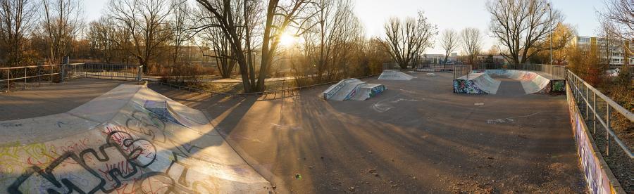 Skatepark auf dem TolOra-Gelände