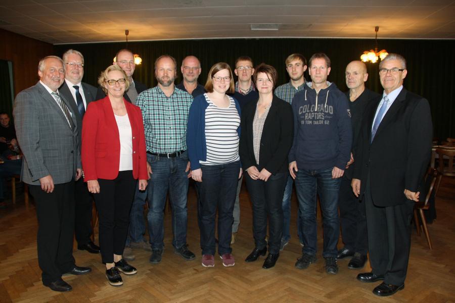 Gemeinderat Eydelstedt 2016 - 2021