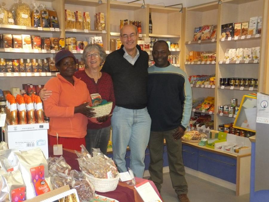 Gäste aus Mosambik besuchen den Bietigheimer Weltladen