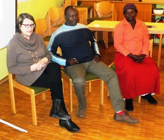 Gäste berichten in Löchgau von dem Projekt von Brot für die Welt