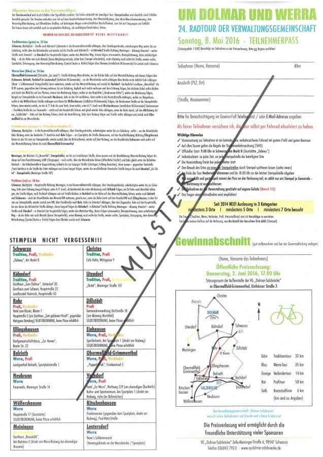 MUSTER Radlerpass 2016