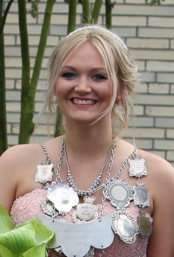 2016 Jungkönigin Nicola Platte