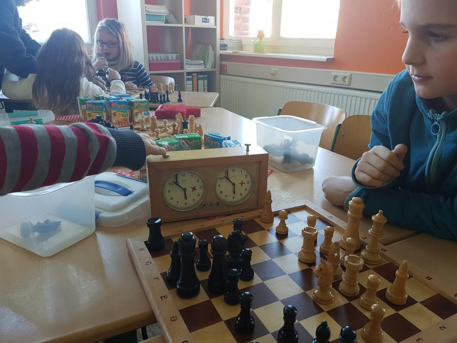 Internes Schachturnier Schach AG