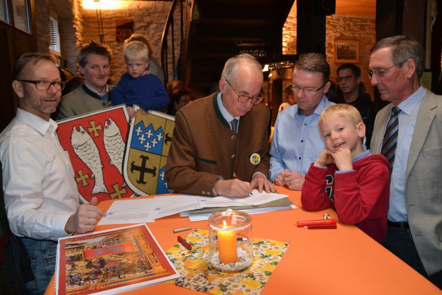 Dalburg Vertrag unterzeichnet