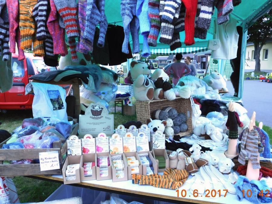 Wollstand am Tag der offenen Tür 2017