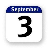 3. September