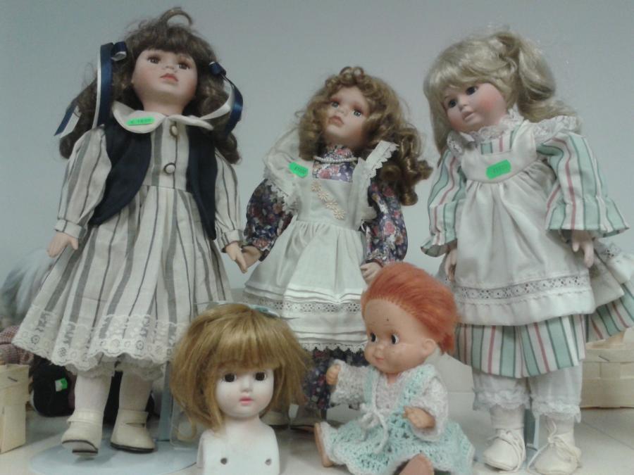 gebrauchte Puppen