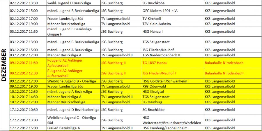 Spielplan 2017-12