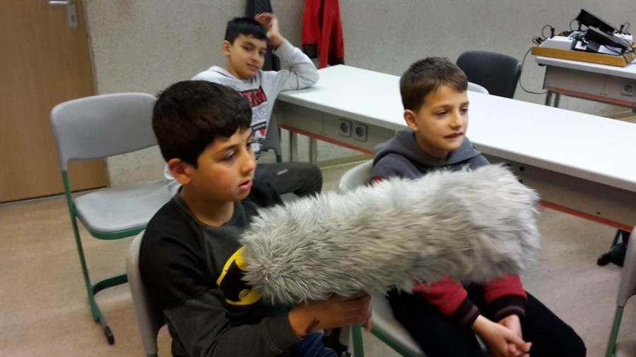 Mikrofon - Windschutz