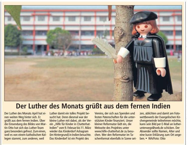 Luther des Monats